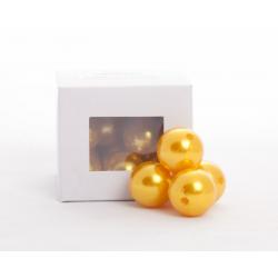 Perles Jaunes 24mm par 18