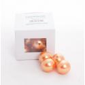 Perles Abricot 24mm par 18
