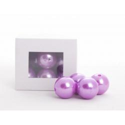 Perles Lilas 24mm par 18