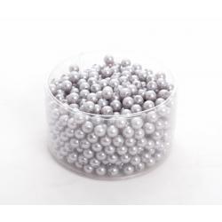 Perles 10mm Argent par 600