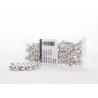 Perles Métalliques Argent 10mm (x115)