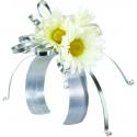 WRISTLET - Bracelet Mariée Wrap 2.5x23cm Blanc par 6