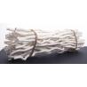 Wavy Stick 45 cm Blanc par 50