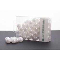 Perles 14 mm Blanc Par 72