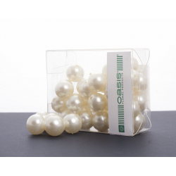 Perles 20 mm Cream