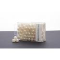Perles 8 mm Cream