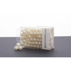Perles 8 mm Cream par 144