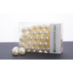 Perles 14mm Cream