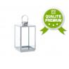 Lanterne Inox 16 x 16 x h40 cm