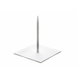 Support Métal Blanc 18 x 18 x h20 cm