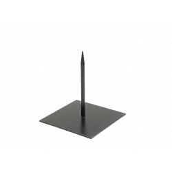 Support Métal Noir 18 x 18 x h20 cm