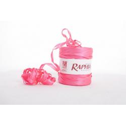 Rose Fluo 200 m - Raphia synthétique
