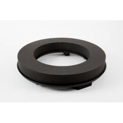 COURONNE 40CM - Mousse Eychenne Noire 40cm par 2