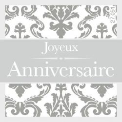 ANNIV - Etiquettes Voeux par 500 Heureux anniversaire