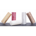 Bougie pilier d6.8 h18 cm Blanc