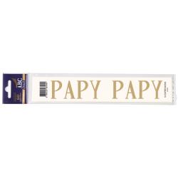 Lettre Deuil PAPY Pochette