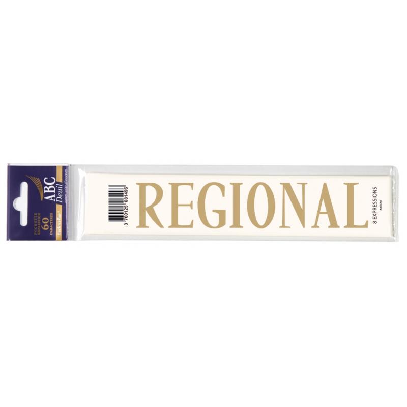 Lettre Deuil REGIONAL Pochette