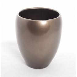 Vase Rian d.16xh.19cm Bronze par 2
