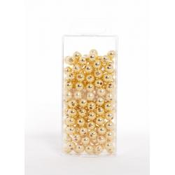 Perles Métalliques Or 10mm...