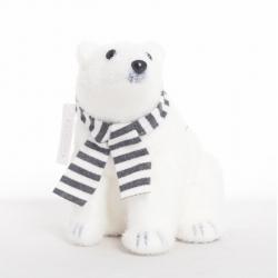 Ours Blanc avec Echarpe 17...