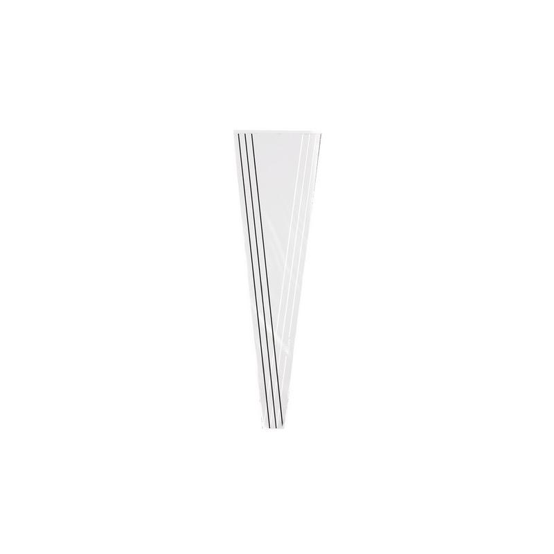 Cone à Rose Allure 54x12x3 Blanc Par100