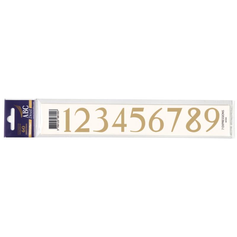 Lettre Deuil 123456789 Pochette
