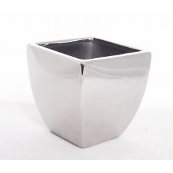 MILANO - Pot L15 h15 cm Argent