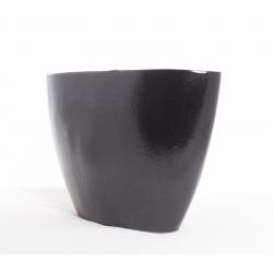 Jardinière d'Orch.32x14.5x22.5 Métal Noir par 2