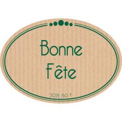 BONNE FETE - Etiquettes Jeso