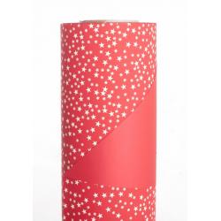 STELLINE - Opaline 0.8x40m Rouge/Créme