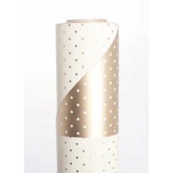 MINI POIS - Opaline 0.8x40m Or/Crème