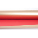 "Opaline ""Satinato""0.8x40m Rouge/Or"