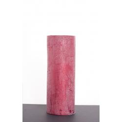 Bougie pilier d6.8 h12 cm Rouge