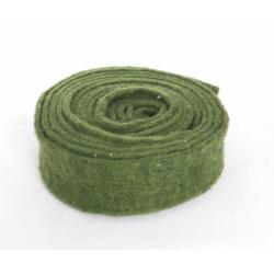 Ruban de Laine 7.5cm x 5m Vert Sapin