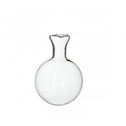 Fiole en verre D8 cm - Boîte de 6 pcs
