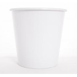 BUCKET - Seau Conique Blanc 10L