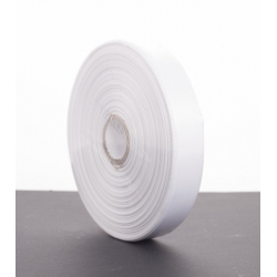 Ruban Satin 20mm x 50m Blanc