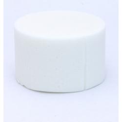 Cylindre Mousse 8cm Ivoire x6