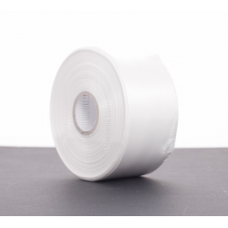 Ruban Satin 40mm x 25m Blanc