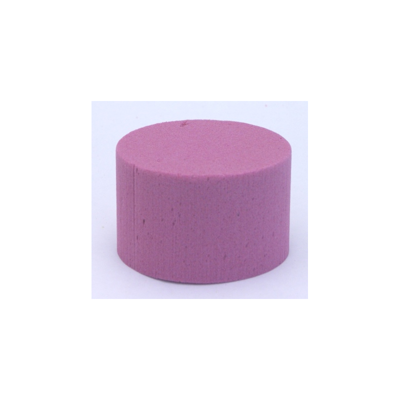 Cylindre Mousse 8cm Fuschia x6