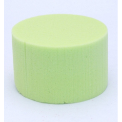 Cylindre Mousse 8cm Vert Anis x6
