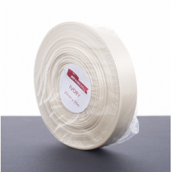 Ruban Satin 20mm x 50m Ivoire