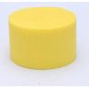 Cylindre Mousse 8cm Jaune Soleil x6