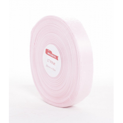 Ruban Satin 20mm x 50m Rose