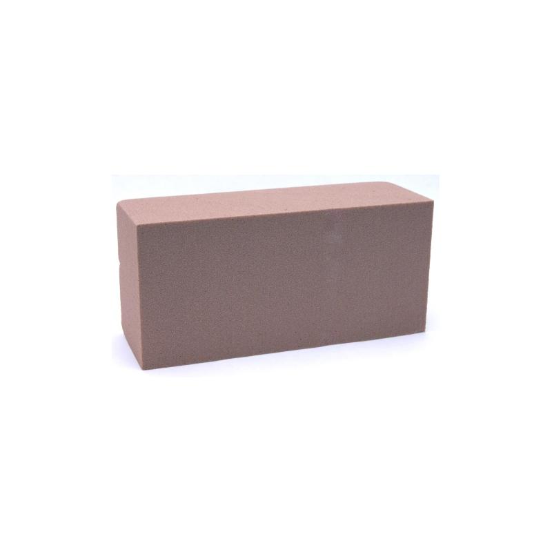 Brique Mousse 23x11x8 Chocolat  x4