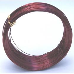 Fil Alu 1mmx250 grm  Rouge