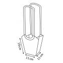 SAC AQUA - Medium Sac D13 cm Par 10 Vert