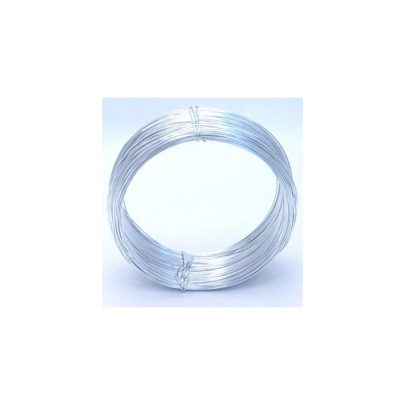 Fil Alu 1mm x250gr Argent