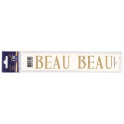 Lettre Deuil BEAU Pochette