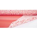 "Opaline 0.80x40m ""Coeur de Rose"" Rouge"